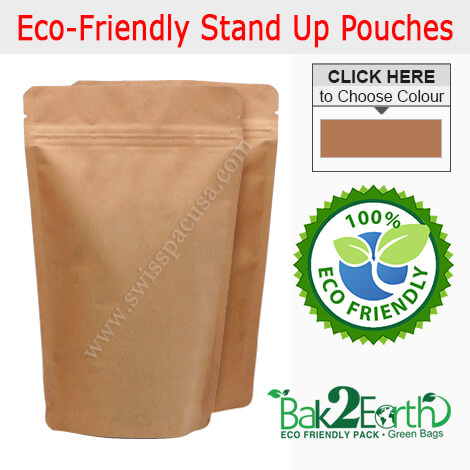 OXO - BIODEGRADABLE STAND UP POUCHES