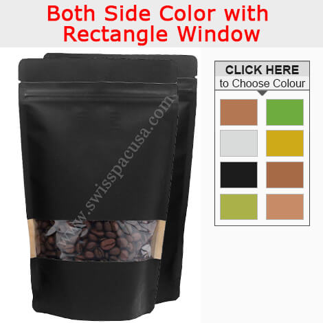 RECTANGLE WINDOW STAND UP POUCHES